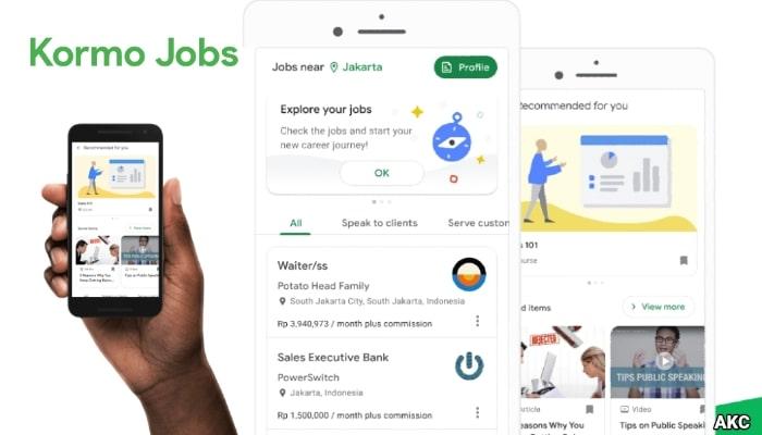 Kormo Jobs App